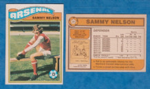 Arsenal Sammy Nelson Northern Ireland 31